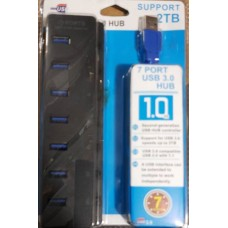 HUB USB 7 PORT 3.0 SUPPORT 2TB