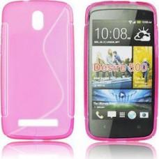 case silicone cover for HTC desire 500