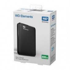 Xternal hard wetern digital 500gb