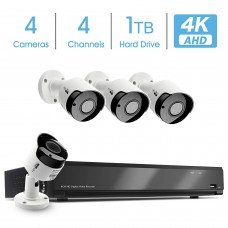 5804 AHD DVR KIT 4K