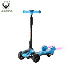 High quality spray electric scooter 3 wheel kids