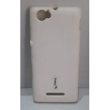 COVER BACK SILICON FOR SONY M