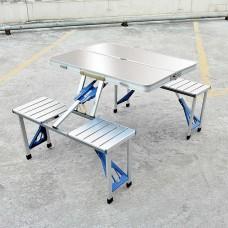 طاولة الرحلات aluminum picnic table
