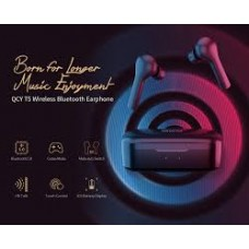 QCY T5 Bluetooth 5.0 Binaural In-ear Earphone Wireless Charging Earbuds