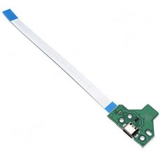 12 PIN PS4 Controller USB charging PCB board with cable