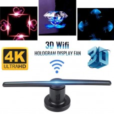 5D Hologram Led Fan with wifi