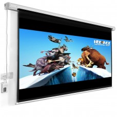 120 projector screen by remote