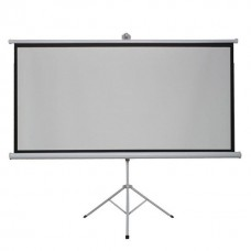 120 projector screen with stand