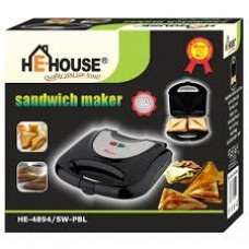 He-House 2 Slice Sandwich Maker HE-4894