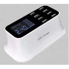 NEXGADGET USB Charging Station 8 Ports USB Deaktop Wall Charger YC-CDA19